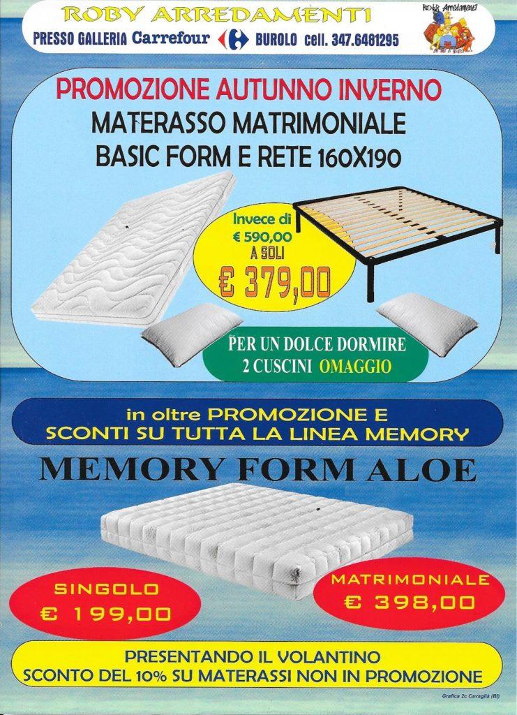 Materasso Matrimoniale Auchan.Promo Da Urlo Per Roby Arredamenti Centro Commerciale